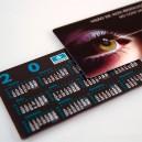 Calendarios de bolsillo personalizables