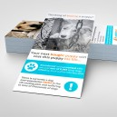 Flyer/folleto tamaño DL (105x210 mm)
