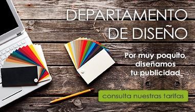 Consulte nuestras tarifas para el diseño de su publicidad. Precios muy económicos.